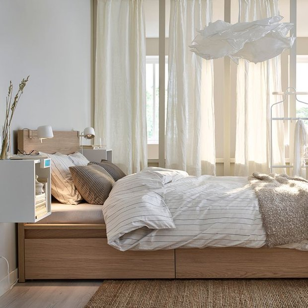 Фотография: Спальня в стиле Скандинавский, Советы – фото на INMYROOM