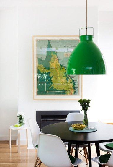 Фотография: Мебель и свет в стиле Современный, Декор интерьера, Дом, Цвет в интерьере, Дома и квартиры, Стены – фото на INMYROOM