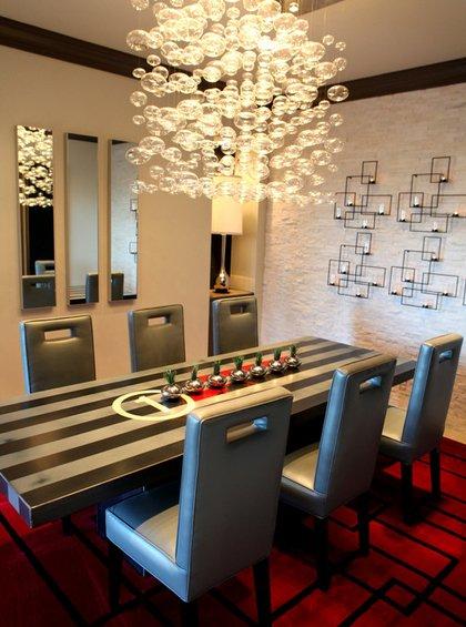 Фотография: Мебель и свет в стиле Эклектика, Декор интерьера, Декор дома, Цвет в интерьере, Обои – фото на INMYROOM
