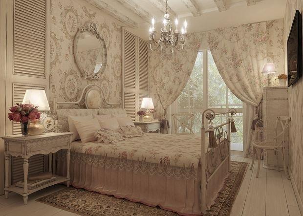 Фотография: Спальня в стиле Прованс и Кантри, Декор интерьера, Квартира, Дом, Декор – фото на InMyRoom.ru