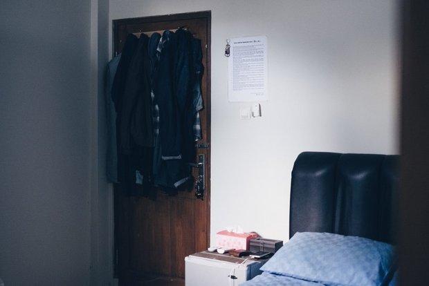 Фотография:  в стиле , Спальня, Советы, хранение вещей, Маленькая спальня, Елена Дорофеева – фото на INMYROOM