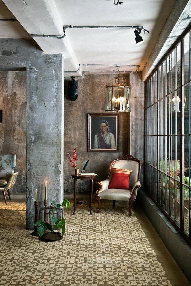 Фотография: Гостиная в стиле Лофт, Эклектика, Декор интерьера, Декор – фото на INMYROOM