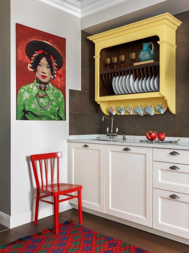 Фотография: Кухня и столовая в стиле Эклектика, Декор интерьера – фото на INMYROOM