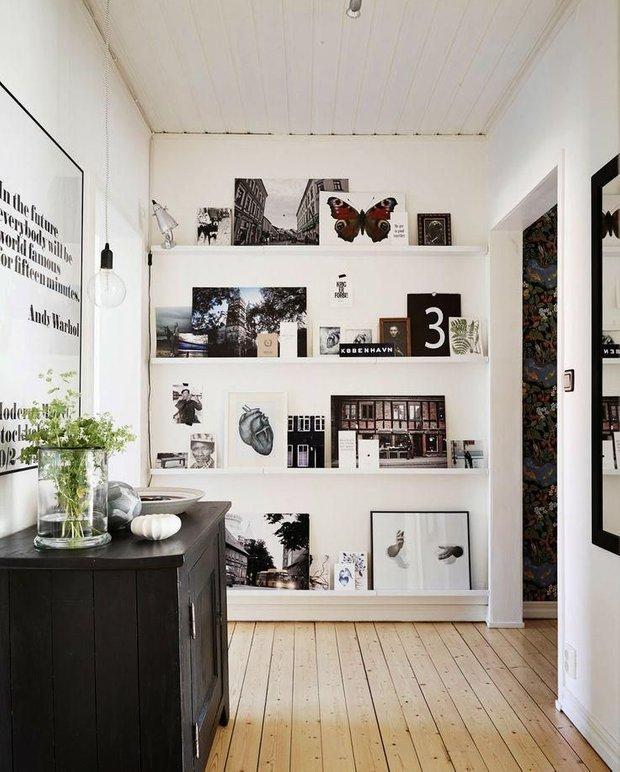 Фотография: Прихожая в стиле Скандинавский, Квартира, Аксессуары, Декор, Мебель и свет, Ремонт на практике, Гид – фото на INMYROOM