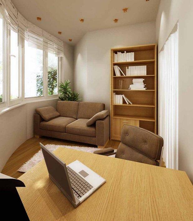 Фотография:  в стиле , Балкон, Советы, как обустроить балкон, объединить балкон с гостиной – фото на INMYROOM