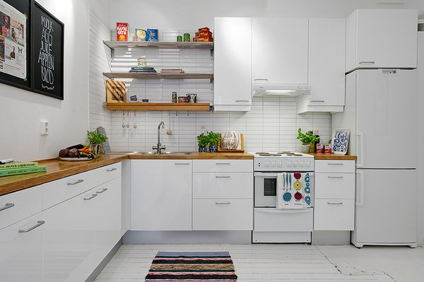 Фотография: Кухня и столовая в стиле Скандинавский, Квартира, Аксессуары, Декор, Мебель и свет, Ремонт на практике, Гид – фото на INMYROOM