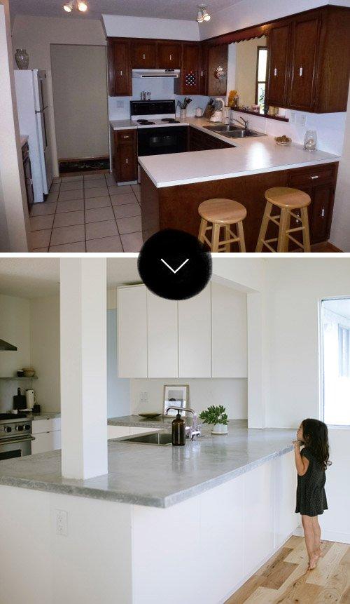 Фотография:  в стиле , Кухня и столовая, Минимализм, Переделка, ИКЕА, кухня в стиле минимализм, как оформить кухню в стиле минимализм, минималистичная кухня, кухонный гарнитур от ИКЕА, переделка кухни – фото на InMyRoom.ru