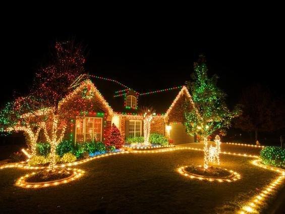 Фотография: Ландшафт в стиле , Декор интерьера, Праздник, Новый Год – фото на INMYROOM