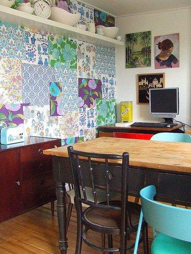 Фотография: Кухня и столовая в стиле Прованс и Кантри, Декор интерьера, Текстиль, Декор, Декор дома, Пэчворк – фото на INMYROOM