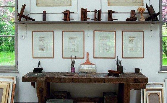 Фотография: Кабинет в стиле Прованс и Кантри, Дом, Дома и квартиры, Прованс – фото на INMYROOM