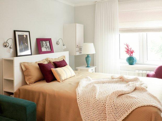 Фотография: Спальня в стиле Скандинавский, Советы, Даша Ухлинова – фото на INMYROOM