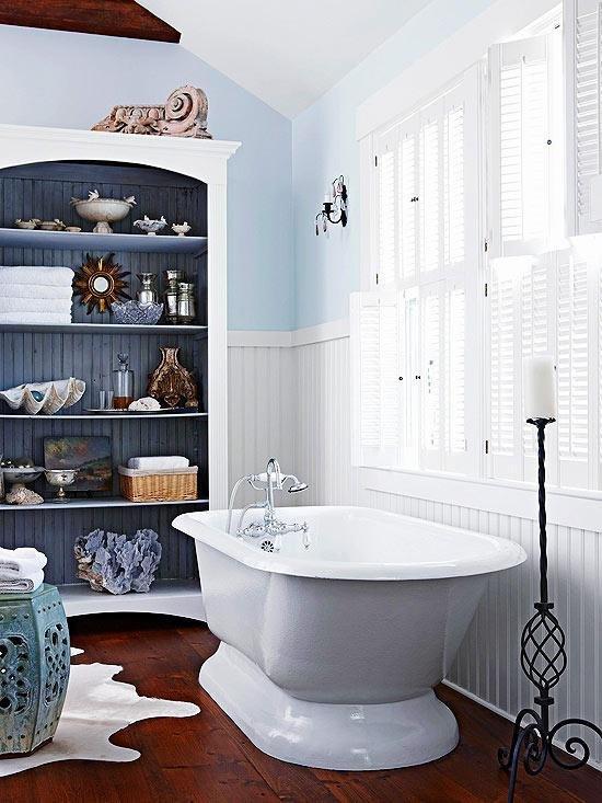 Фотография: Ванная в стиле Прованс и Кантри, Декор интерьера, DIY, Интерьер комнат, Переделка – фото на INMYROOM