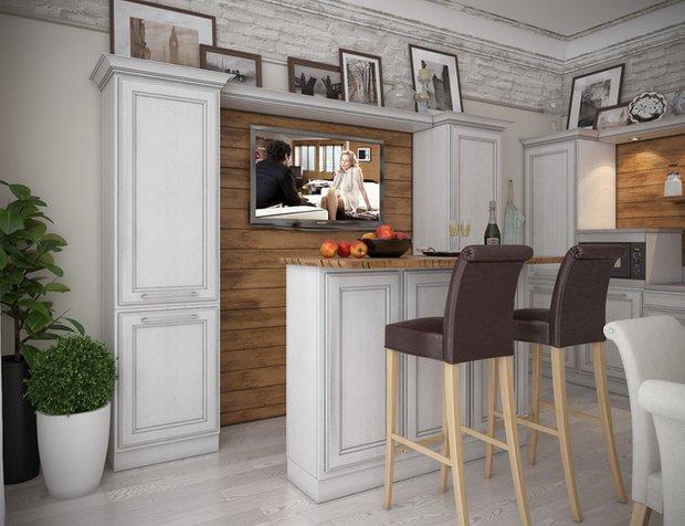 Фотография: Кухня и столовая в стиле Прованс и Кантри, Классический, Дом, Дома и квартиры, Прованс, Проект недели – фото на INMYROOM