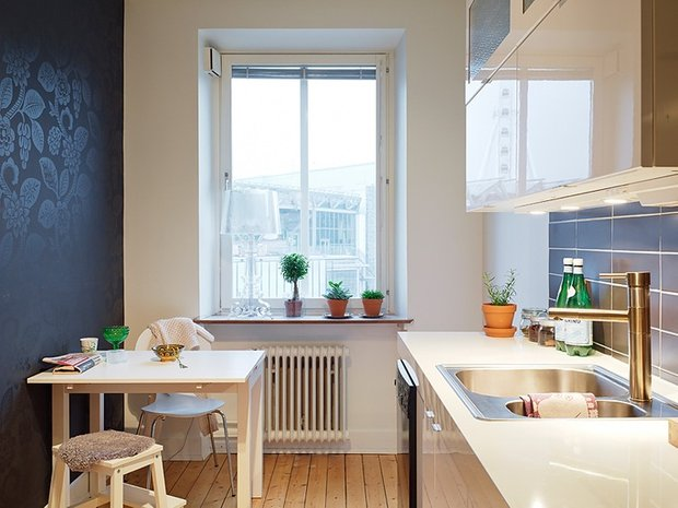 Фотография:  в стиле , Кухня и столовая, Мебель и свет, Советы – фото на InMyRoom.ru