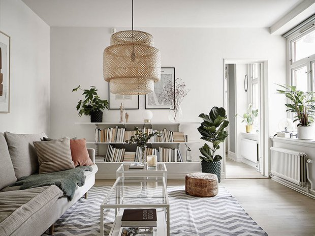 Фотография: Гостиная в стиле Скандинавский, Декор интерьера, Карта покупок – фото на INMYROOM