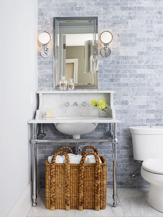 Фотография: Ванная в стиле Лофт, Стиль жизни, Советы, Эко – фото на INMYROOM