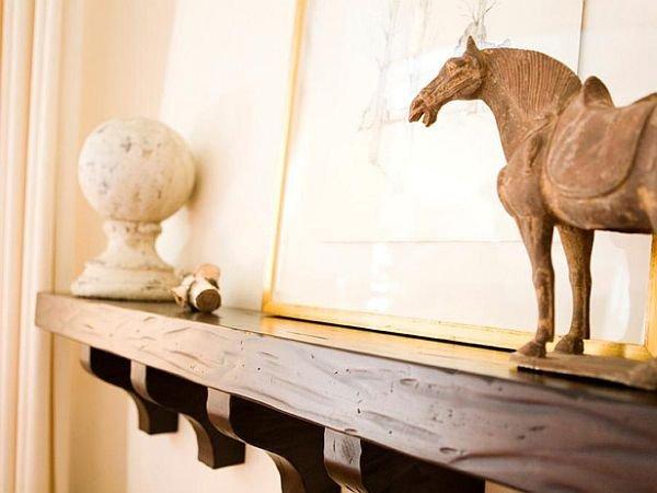 Фотография: Декор в стиле , Декор интерьера, Декор дома, Праздник, Камин, Биокамин – фото на INMYROOM