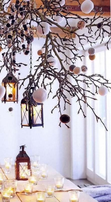 Фотография: Аксессуары в стиле Скандинавский, Декор интерьера, Праздник, Цвет в интерьере, Новый Год – фото на INMYROOM