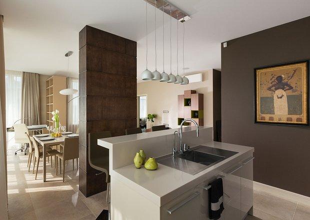 Фотография: Кухня и столовая в стиле Современный, Классический, Квартира, Проект недели – фото на INMYROOM