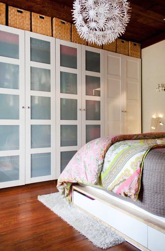 Фотография: Спальня в стиле Скандинавский, Гардеробная, Хранение, Интерьер комнат, Гардероб – фото на INMYROOM