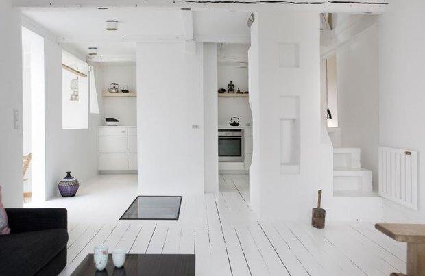 Фотография:  в стиле Скандинавский, Современный, Кухня и столовая, Декор интерьера, Освещение, Мебель и свет – фото на INMYROOM