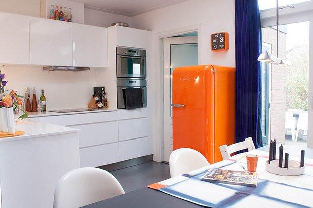 Фотография: Кухня и столовая в стиле Хай-тек, Малогабаритная квартира, Интерьер комнат, Советы – фото на InMyRoom.ru