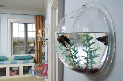 Фотография: Декор в стиле Лофт, Декор интерьера, Малогабаритная квартира, Мебель и свет, Дом и дача, аквариум в интерьере, аквариум – фото на INMYROOM