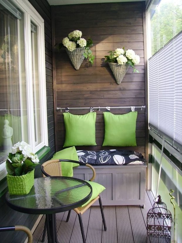 Фотография: Балкон в стиле Современный, Квартира, Декор, Советы, как выбрать жалюзи, жалюзи на окна – фото на INMYROOM