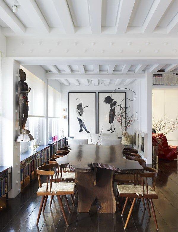 Фотография: Кухня и столовая в стиле Эклектика, Стиль жизни, Советы, Стол – фото на INMYROOM