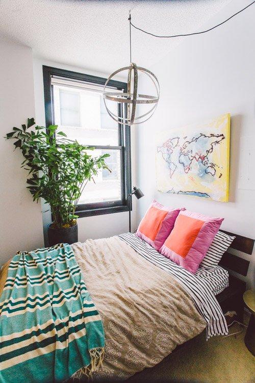 Фотография: Спальня в стиле Лофт, Минимализм, Квартира, Переделка – фото на INMYROOM