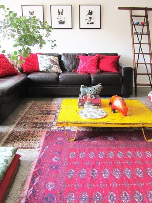 Фотография: Гостиная в стиле Скандинавский, Классический, Хай-тек, Эклектика, Мебель и свет – фото на INMYROOM