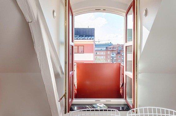Фотография:  в стиле , Скандинавский, Квартира, Дома и квартиры – фото на INMYROOM