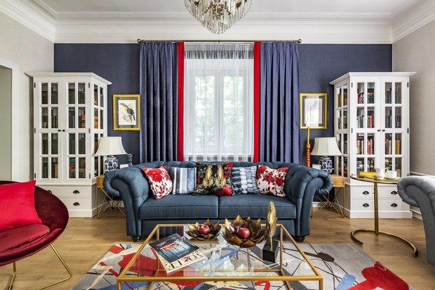 Фотография: Гостиная в стиле Классический, Современный, Декор интерьера, Квартира, Гид – фото на INMYROOM