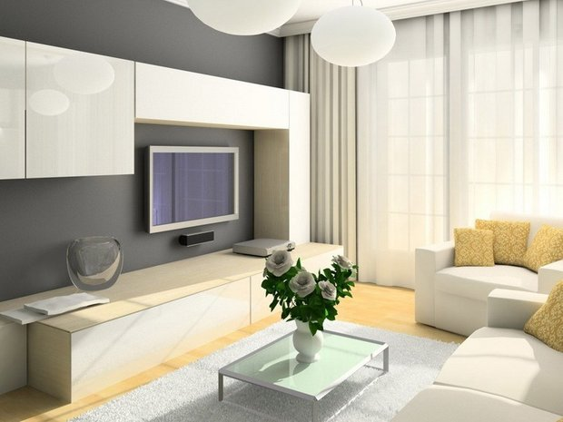 Фотография: Гостиная в стиле Современный, Декор интерьера, Мебель и свет, Советы – фото на INMYROOM