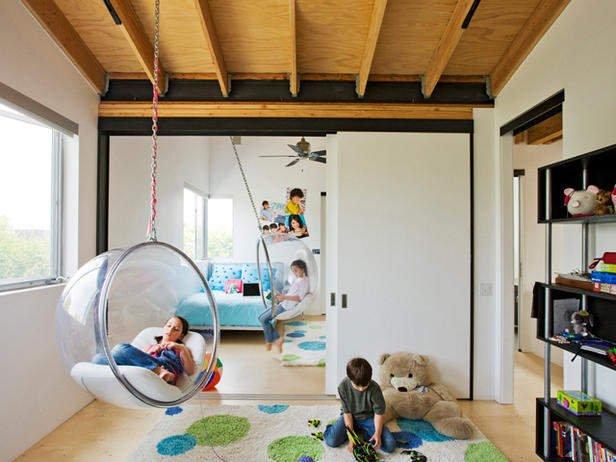 Фотография: Детская в стиле Современный, Eero Aarnio, Индустрия, Люди – фото на INMYROOM