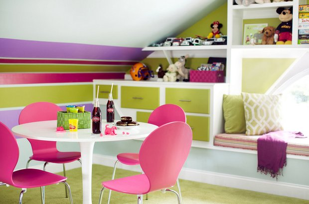 Фотография: Кухня и столовая в стиле Современный, Дом, Чердак, Мансарда – фото на INMYROOM