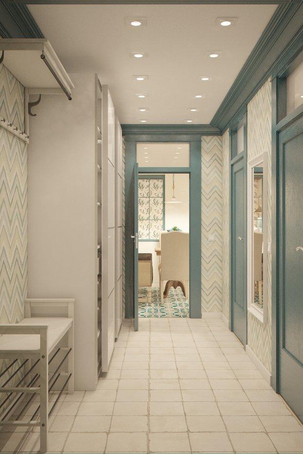 Фотография: Прихожая в стиле Прованс и Кантри, Квартира, Gramercy Home, Дома и квартиры, IKEA, Проект недели – фото на INMYROOM