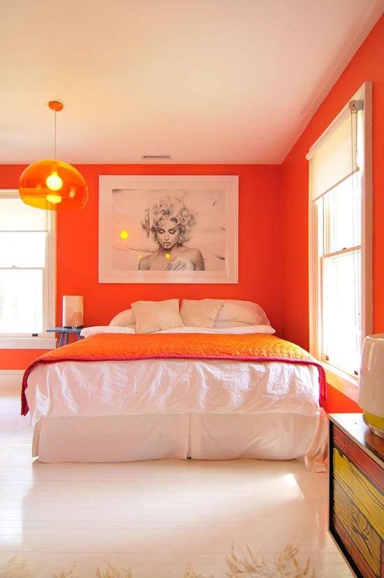 Фотография: Спальня в стиле Скандинавский, Современный, Декор интерьера, Декор дома, Цвет в интерьере – фото на INMYROOM
