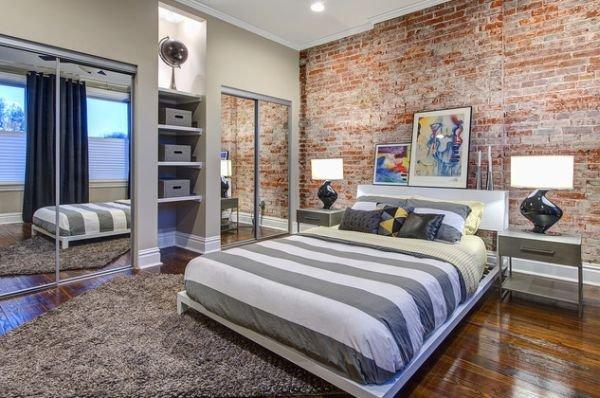 Фотография: Спальня в стиле Лофт, Современный, Декор интерьера, Квартира, Дом, Декор дома, Стена – фото на INMYROOM