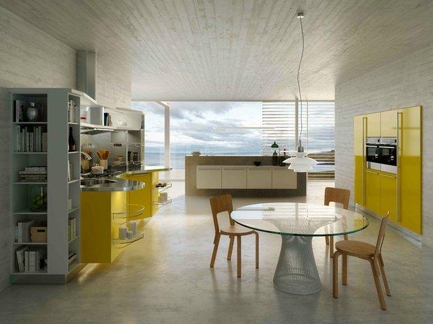 Фотография: Кухня и столовая в стиле Хай-тек, Интерьер комнат – фото на INMYROOM