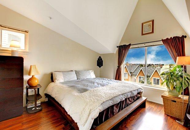 Фотография: Спальня в стиле Современный, Дом, Дома и квартиры, Дача, Dulux – фото на INMYROOM