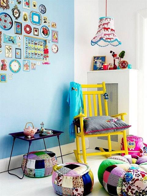 Фотография: Детская в стиле Скандинавский, Декор интерьера, Текстиль, Декор, Декор дома, Пэчворк – фото на INMYROOM