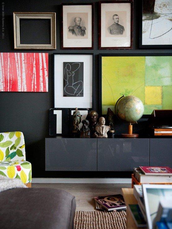 Фотография: Декор в стиле , Гостиная, Интерьер комнат, Советы – фото на INMYROOM