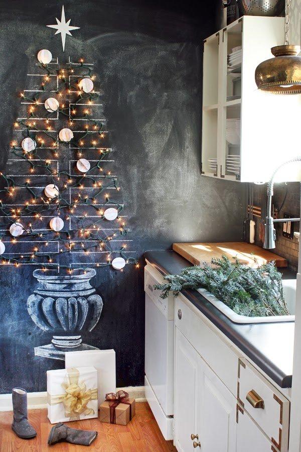 Фотография: Кухня и столовая в стиле Скандинавский, Декор интерьера, Праздник, Новый Год – фото на InMyRoom.ru