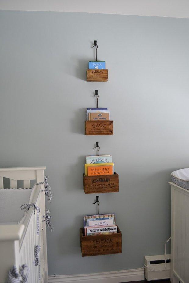 Фотография: Декор в стиле Прованс и Кантри, Современный, Детская, Интерьер комнат, Системы хранения – фото на INMYROOM