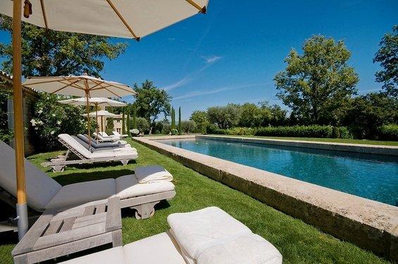 Фотография: Ландшафт в стиле , Дом, Дома и квартиры, Прованс, Бассейн – фото на INMYROOM