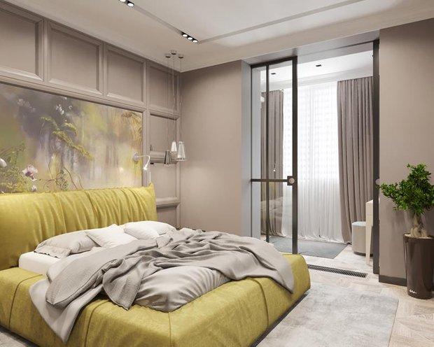 Фотография: Спальня в стиле Современный, Советы, Перепланировка, Марина Лаптева – фото на INMYROOM