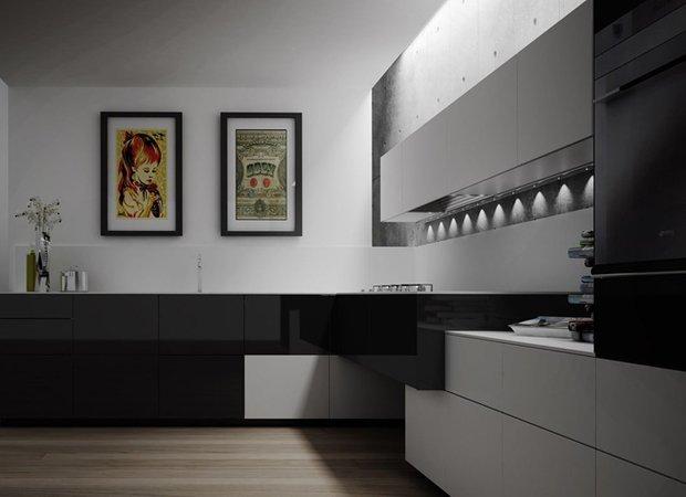 Фотография: Кухня и столовая в стиле Современный, Хай-тек, Интерьер комнат, HOFF, Советы – фото на INMYROOM