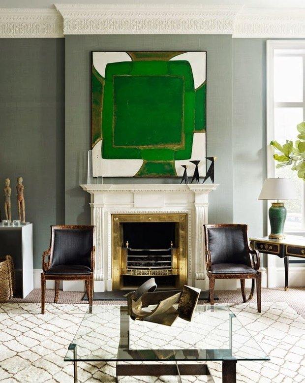 Фотография: Гостиная в стиле Эклектика, Декор интерьера, Декор дома, Картины, Поп-арт – фото на INMYROOM