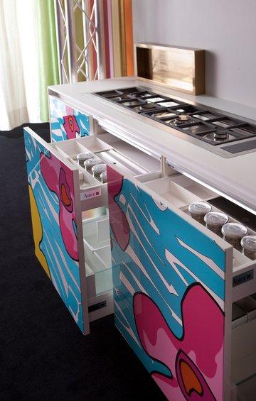 Фотография: Кухня и столовая в стиле Современный, Индустрия, Новости, Принты – фото на INMYROOM